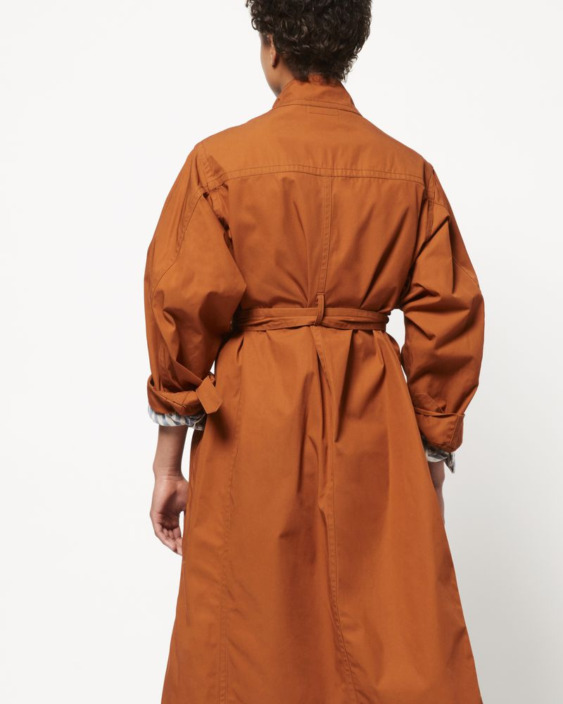 JACI cotton trench coat ISABEL MARANT