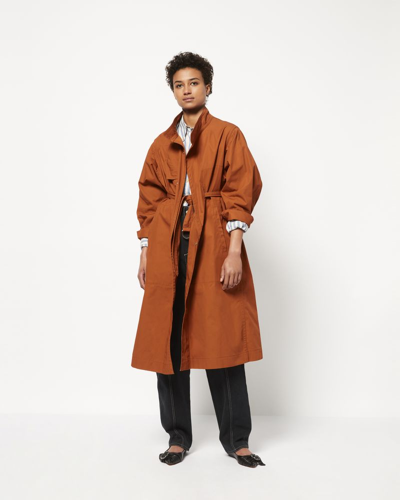 JACI Trench in cotone ISABEL MARANT