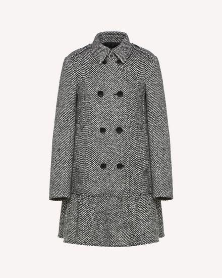 REDValentino Coat Woman QR0CA1T041B 0NO a