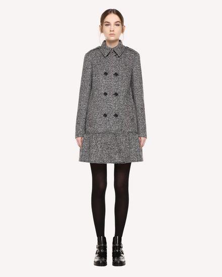 REDValentino Coat Woman QR0CA1T041B 0NO f