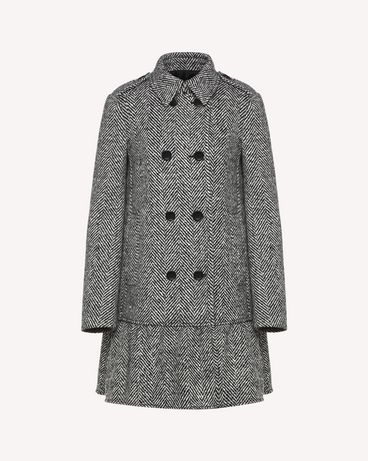 REDValentino QR0CA1T041B 0NO Coat Woman a