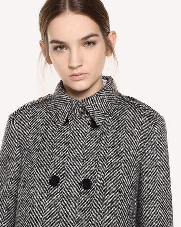 REDValentino QR0CA1T041B 0NO Coat Woman e