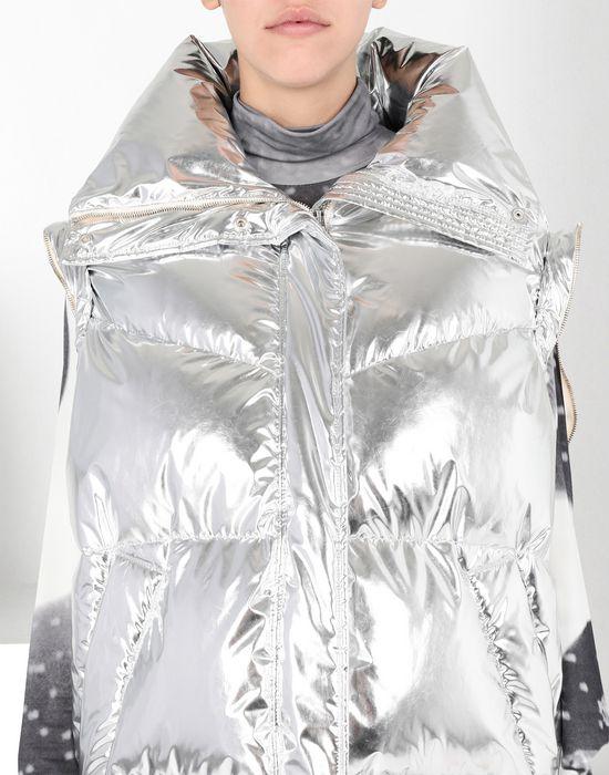 MM6 MAISON MARGIELA Silver puffer sports jacket Jacket [*** pickupInStoreShipping_info ***] a