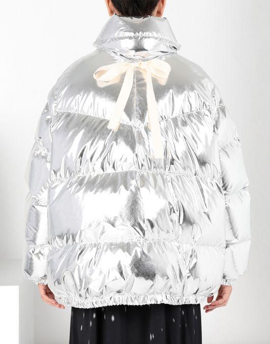 MM6 MAISON MARGIELA Silver puffer sports jacket Jacket [*** pickupInStoreShipping_info ***] d