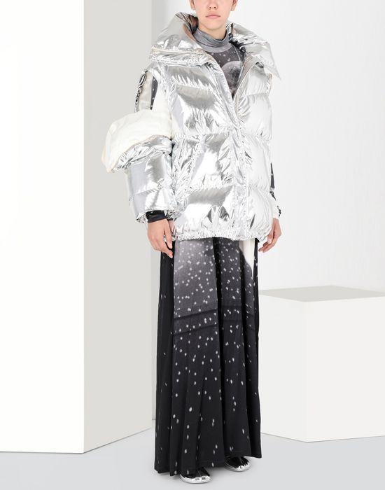 MM6 MAISON MARGIELA Silver puffer sports jacket Jacket [*** pickupInStoreShipping_info ***] r