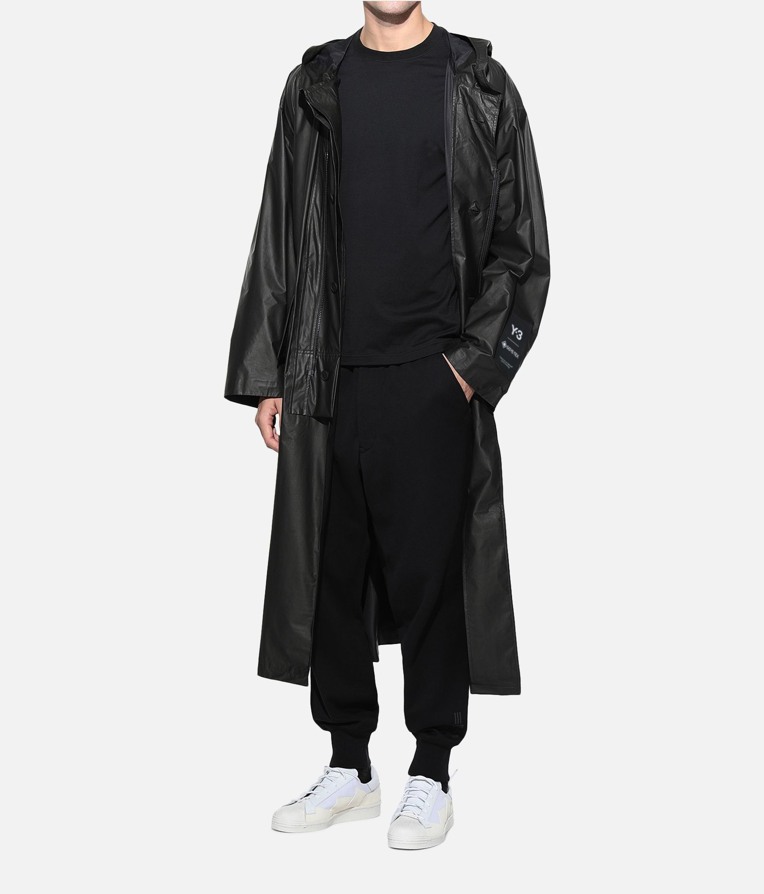 Y-3 Y-3 GORE-TEX Long Coat Raincoat Man a
