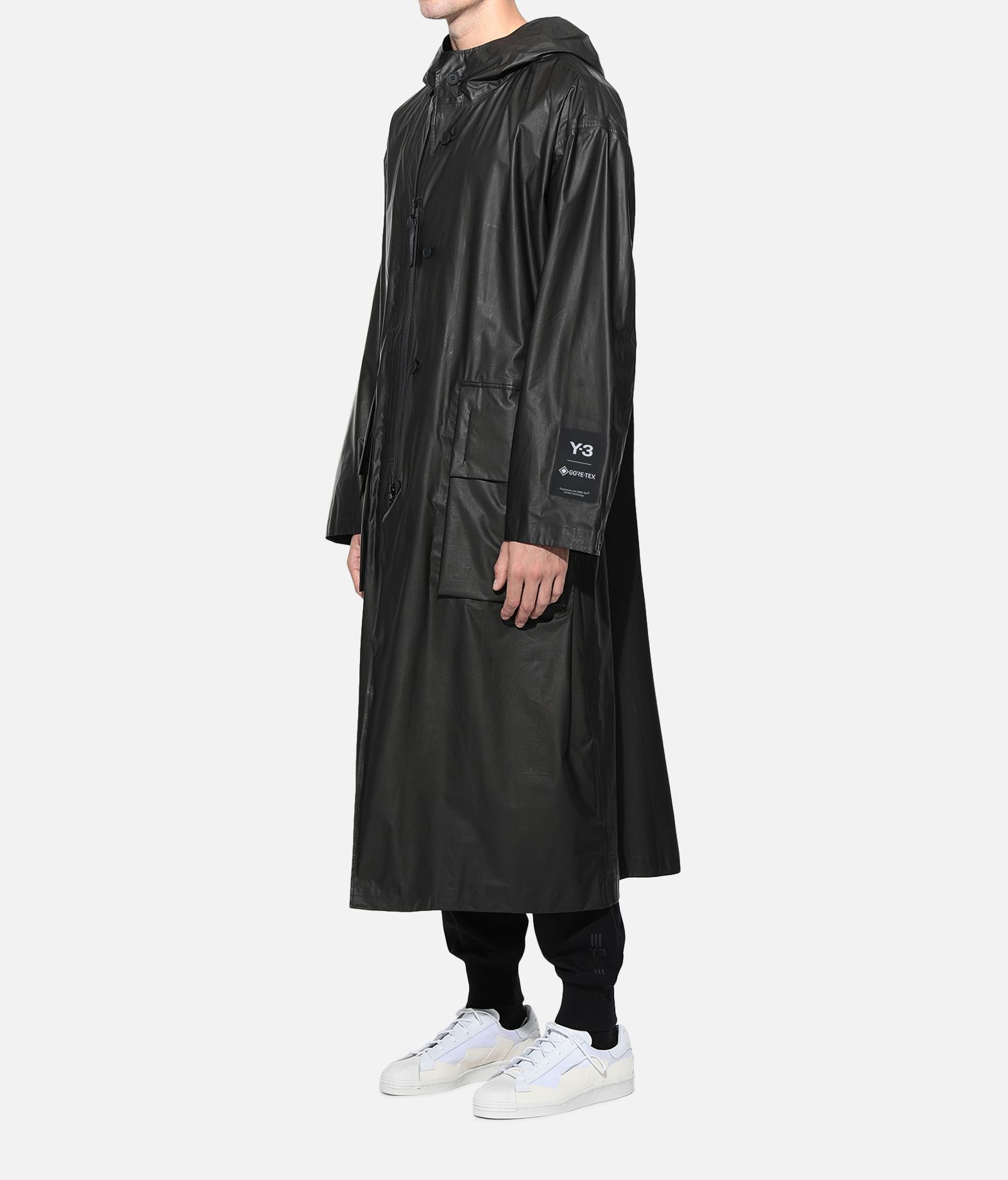 Y-3 Y-3 GORE-TEX Long Coat Raincoat Man e