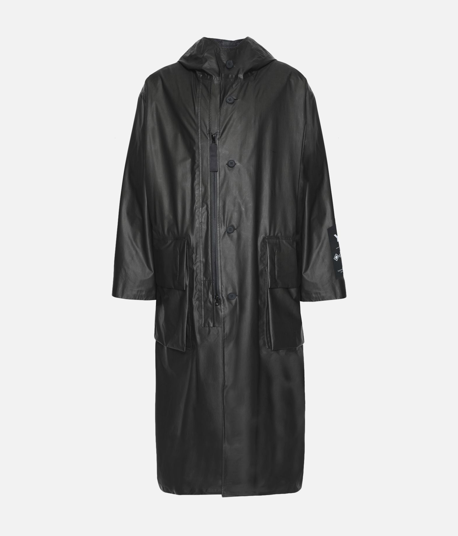 Y-3 Y-3 GORE-TEX Long Coat Raincoat Man f