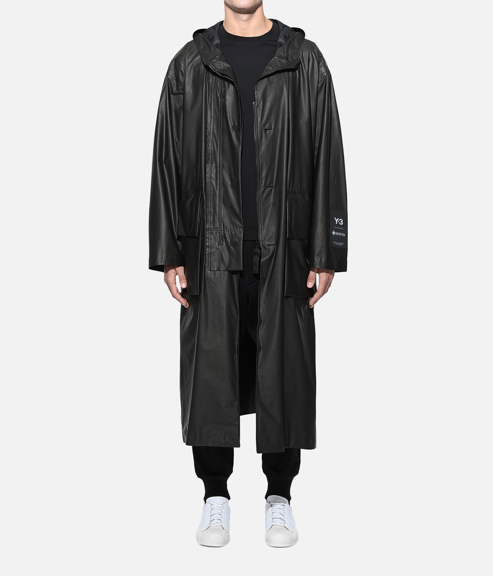 Y-3 Y-3 GORE-TEX Long Coat Raincoat Man r