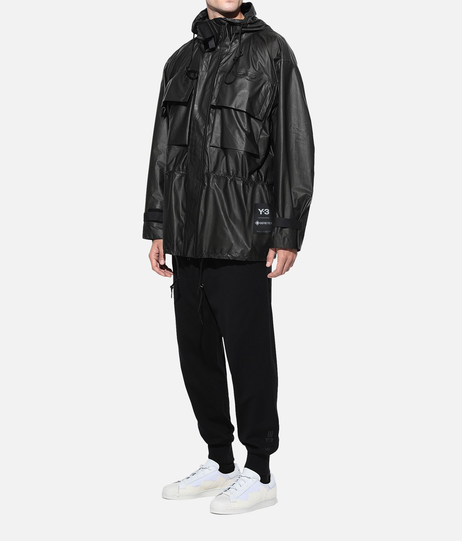 Y-3 Y-3 GORE-TEX Utility Hoodie Jacket  Raincoat Man a