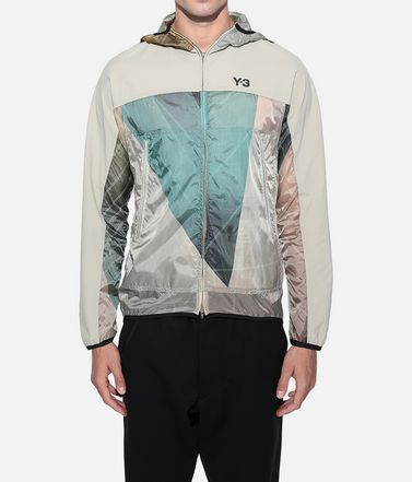Y-3 Windbreaker Man Y-3 AOP Packable Jacket r