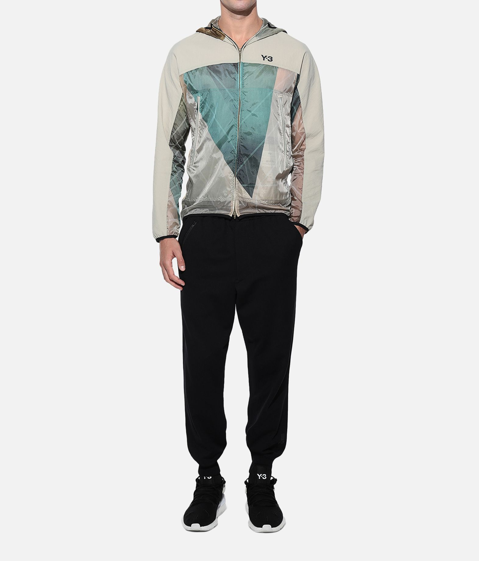 Y-3 Y-3 AOP Packable Jacket Windbreaker Man a