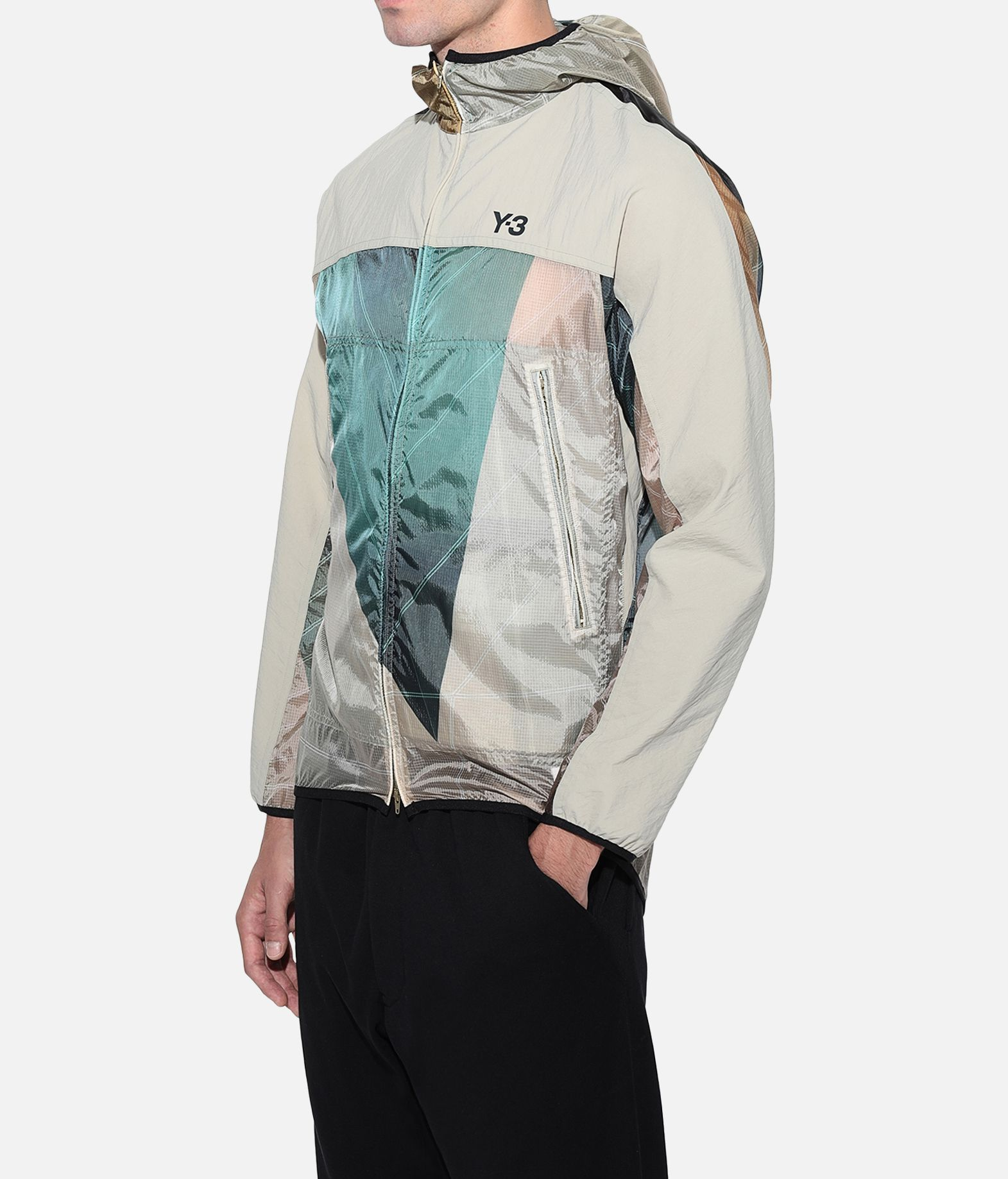 Y-3 Y-3 AOP Packable Jacket Windbreaker Man e