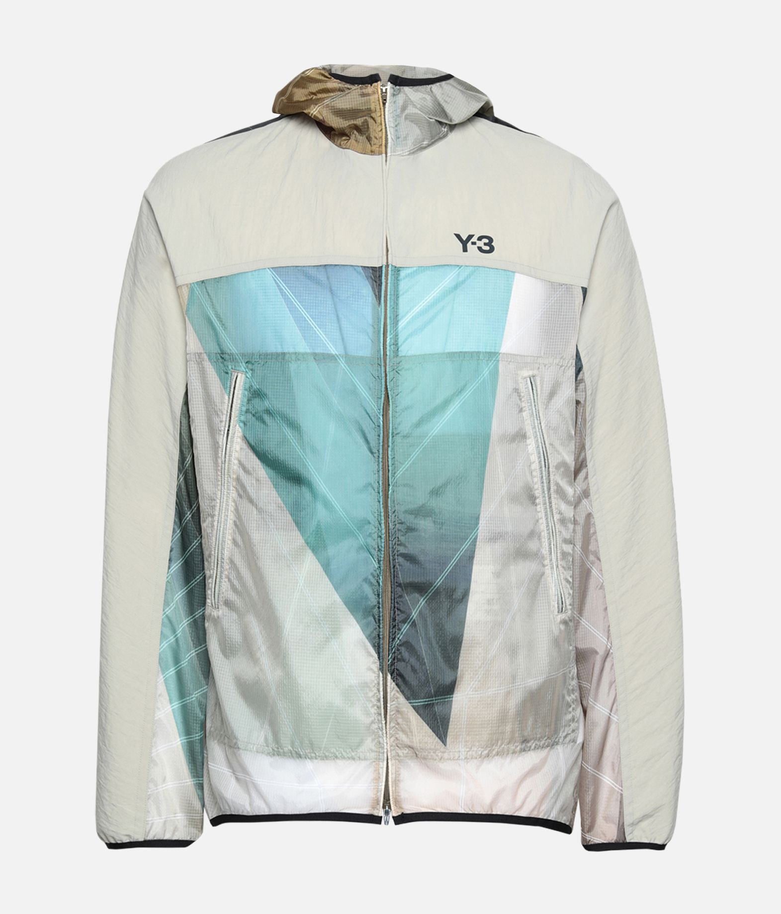 Y-3 Y-3 AOP Packable Jacket Windbreaker Man f