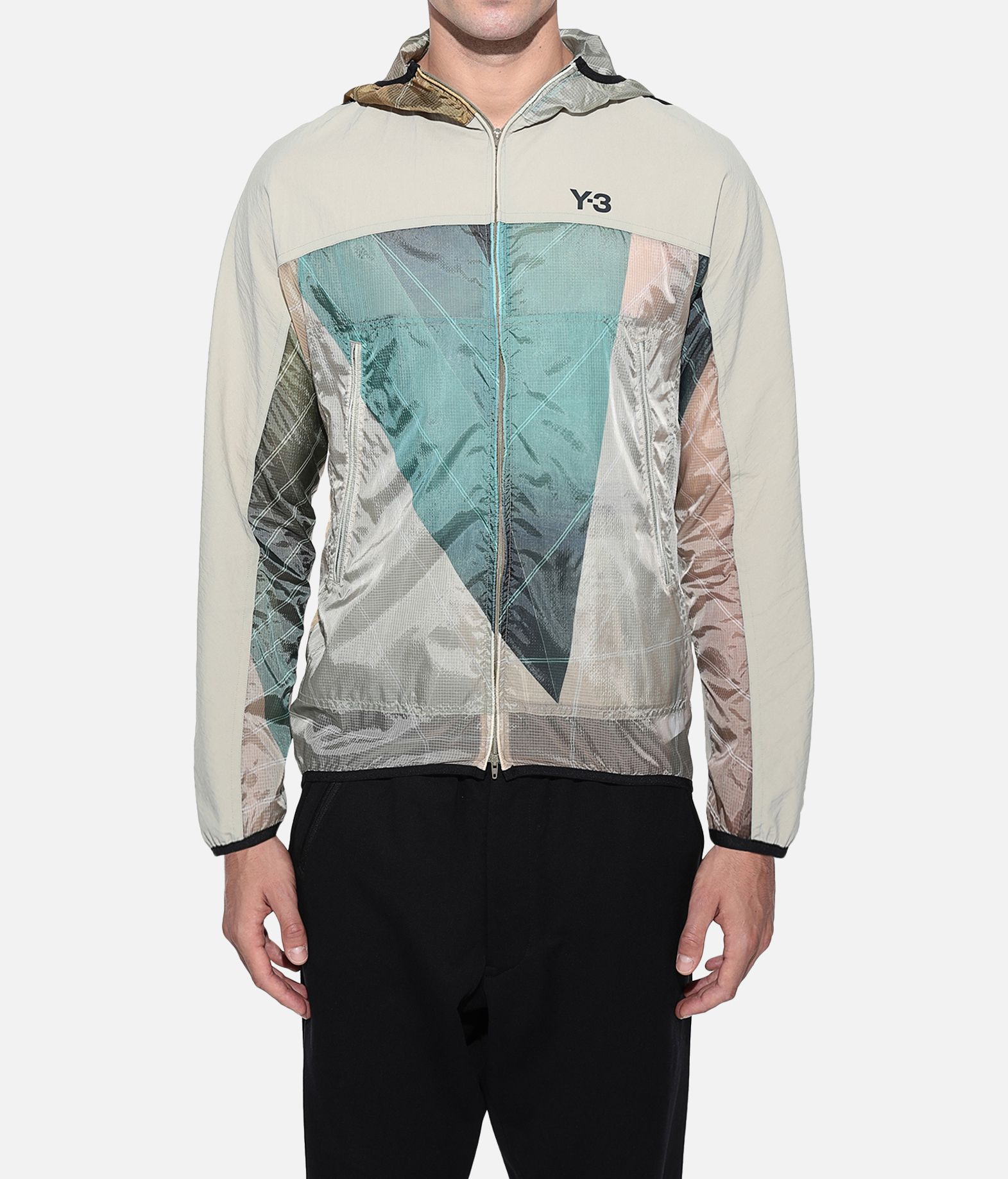 Y-3 Y-3 AOP Packable Jacket Windbreaker Man r