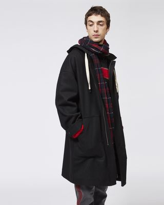 EDOUARD hooded coat