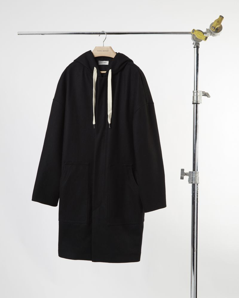 EDOUARD hooded coat ISABEL MARANT