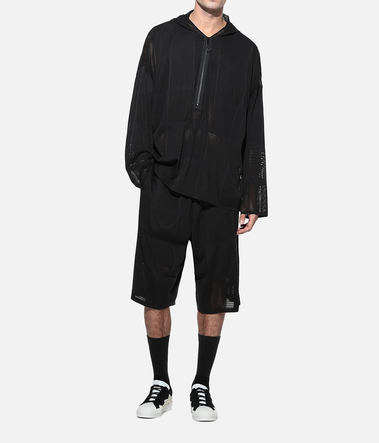 Y-3 Y-3 Patchwork Hoodie Hooded Track Top Man a