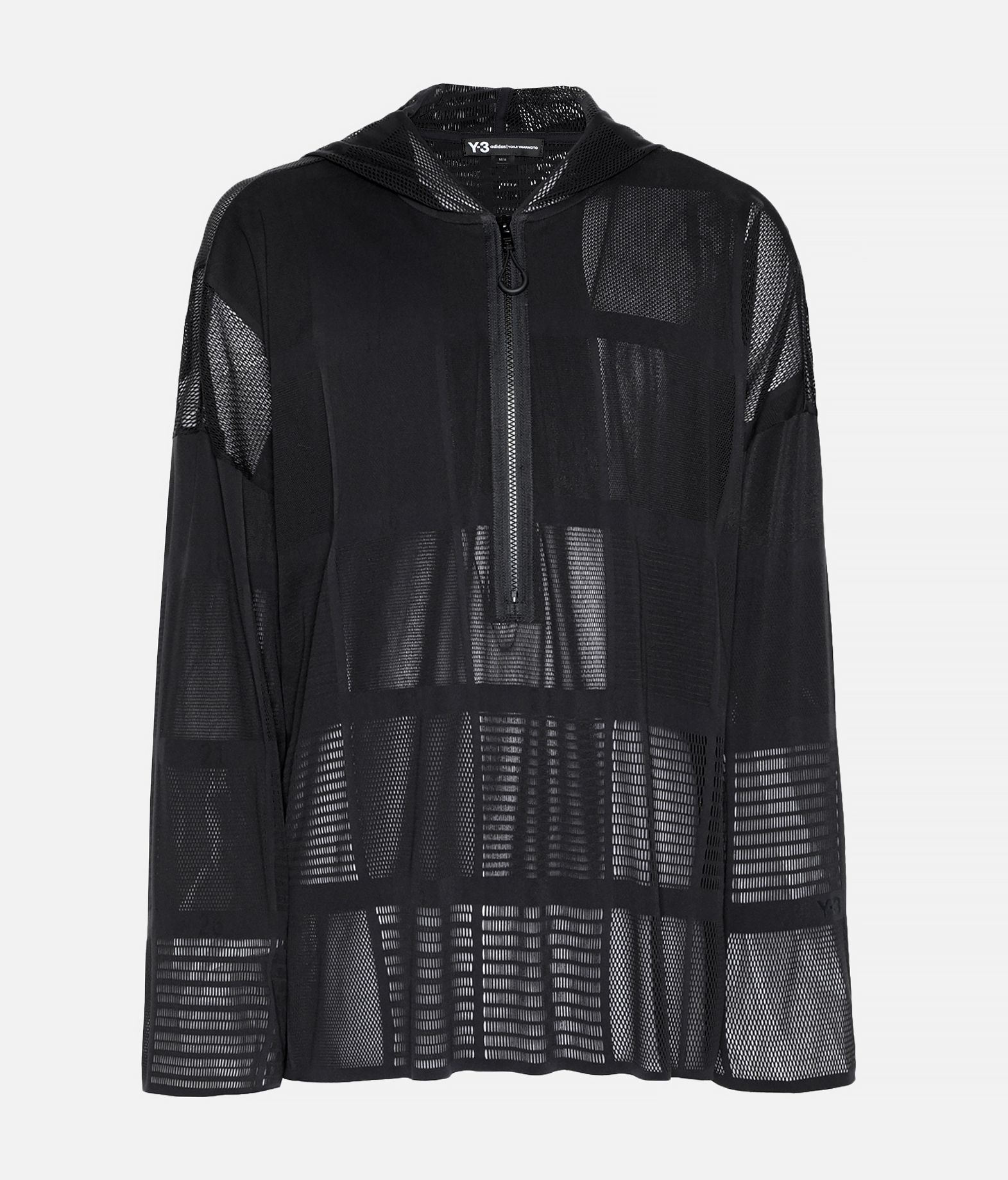 Y-3 Y-3 Patchwork Hoodie Hooded Track Top Man f