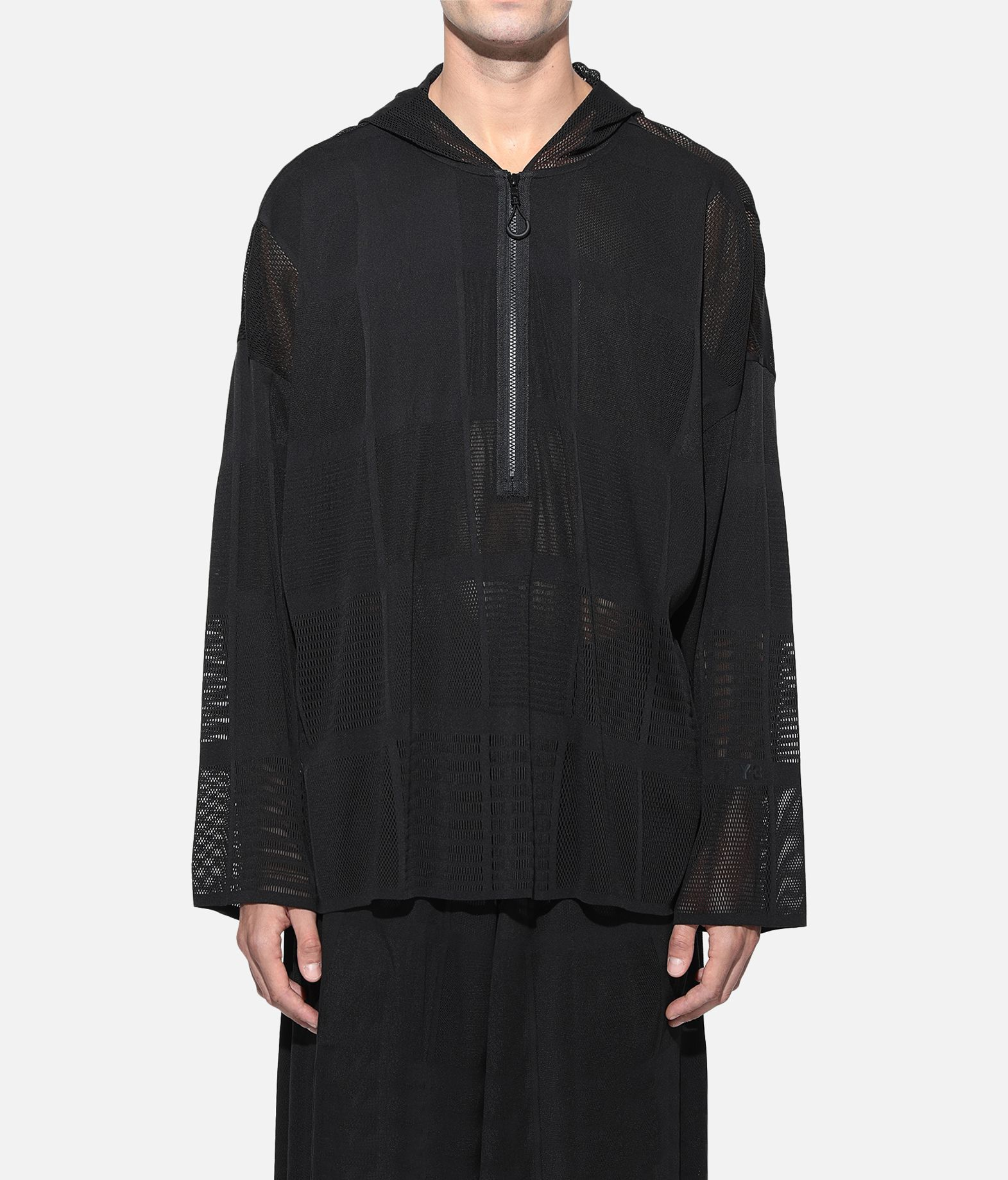 Y-3 Y-3 Patchwork Hoodie Hooded Track Top Man r