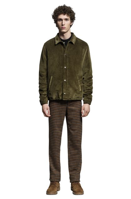 MISSONI Anorak Military green Man - Back