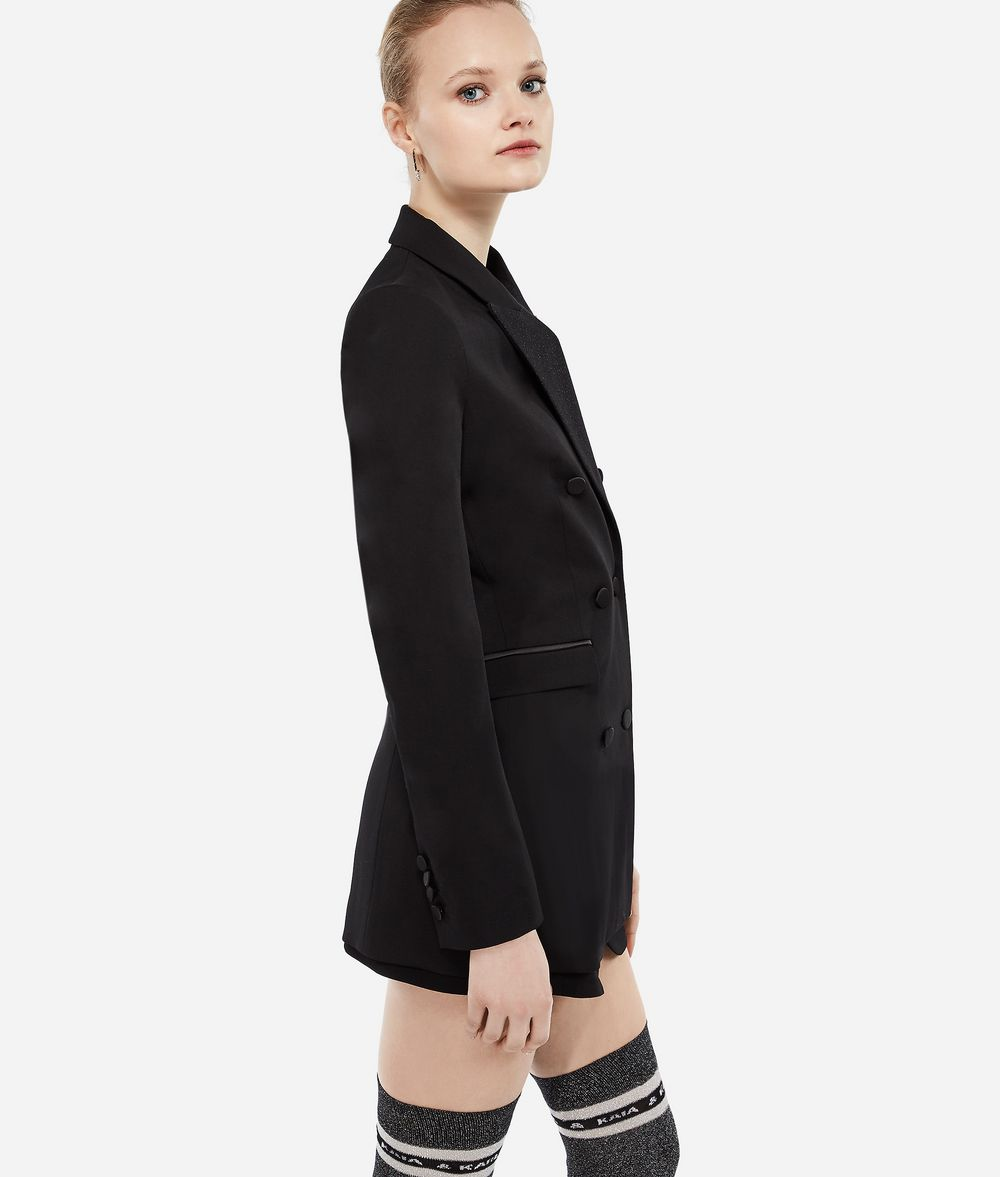 KARL LAGERFELD Karl X Kaia Tux Blazer Blazer Woman d