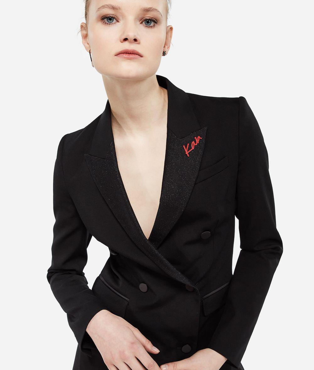 KARL LAGERFELD Karl X Kaia Tux Blazer Blazer Woman f