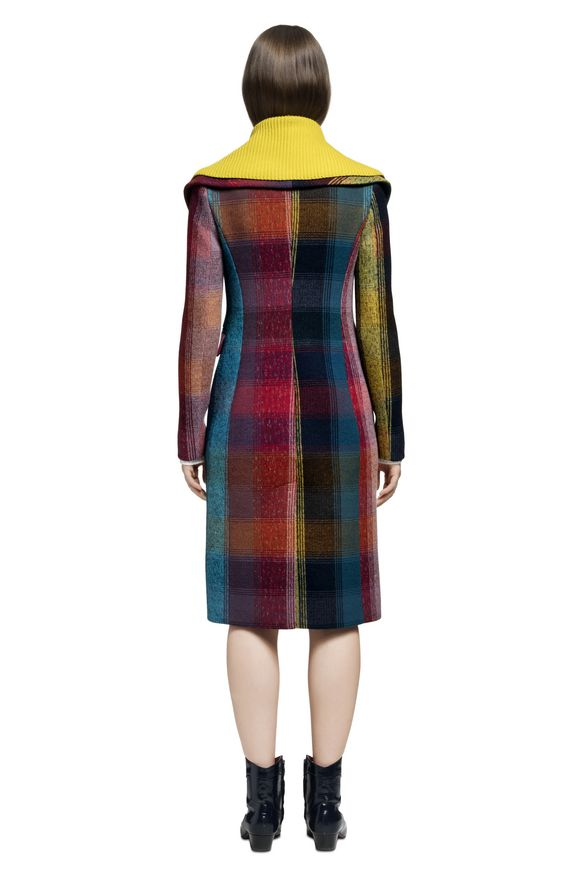 MISSONI Peacoat Woman, Rear view