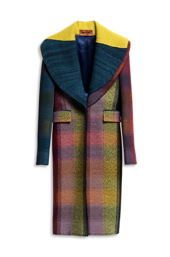 MISSONI Peacoat Deep jade Woman