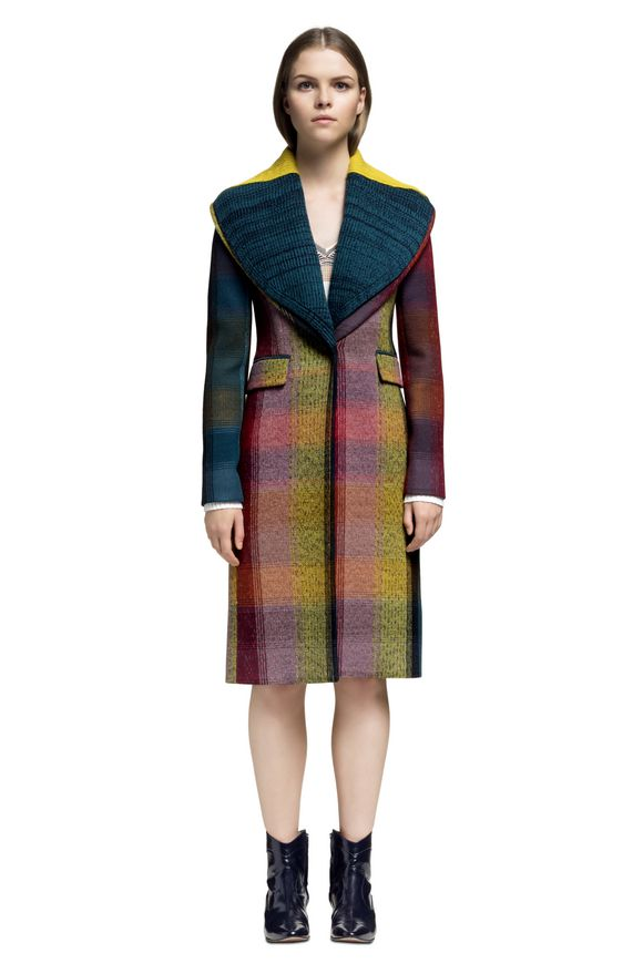 MISSONI Peacoat Woman, Frontal view