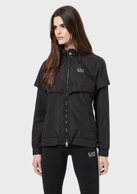 Jacket in Vigor7 windproof and water-repellent fabric