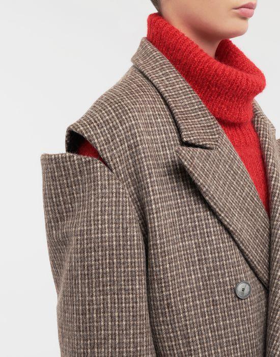 MAISON MARGIELA Coat with décortiqué details Coat [*** pickupInStoreShipping_info ***] a