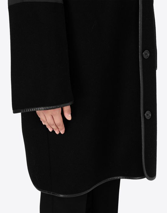 MAISON MARGIELA Wool coat with sleek details Coat [*** pickupInStoreShipping_info ***] b