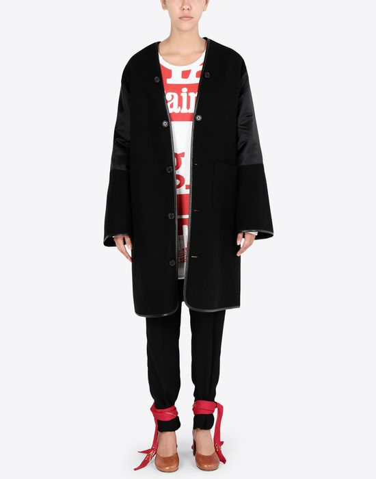 MAISON MARGIELA Wool coat with sleek details Coat [*** pickupInStoreShipping_info ***] d