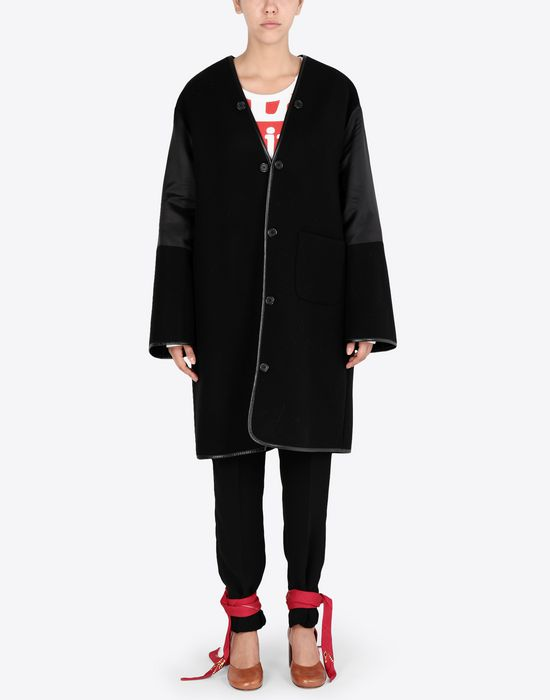 MAISON MARGIELA Wool coat with sleek details Coat [*** pickupInStoreShipping_info ***] r