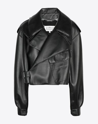 MAISON MARGIELA Jacket [*** pickupInStoreShipping_info ***] Leather bomber jacket f