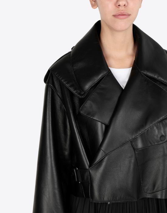 MAISON MARGIELA Leather bomber jacket Jacket [*** pickupInStoreShipping_info ***] a