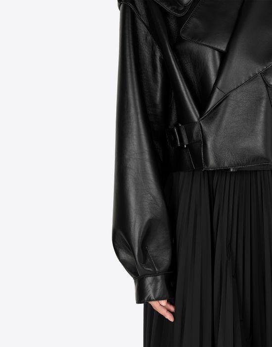 MAISON MARGIELA Leather bomber jacket Jacket [*** pickupInStoreShipping_info ***] b