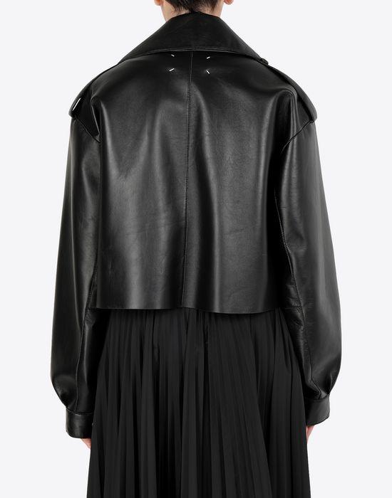 MAISON MARGIELA Leather bomber jacket Jacket [*** pickupInStoreShipping_info ***] e