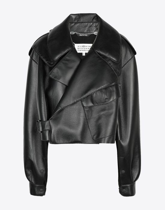 MAISON MARGIELA Leather bomber jacket Jacket [*** pickupInStoreShipping_info ***] f