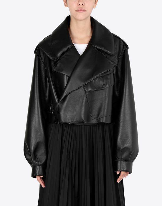 MAISON MARGIELA Leather bomber jacket Jacket [*** pickupInStoreShipping_info ***] r