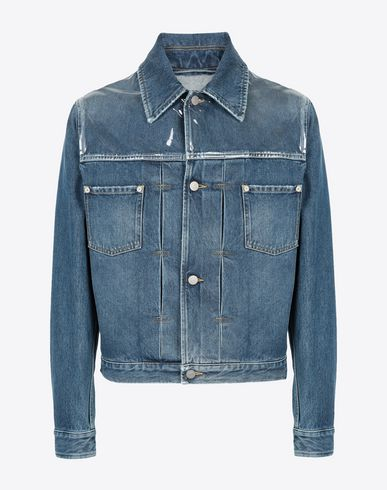 MAISON MARGIELA Light jacket Man Denim sports jacket f