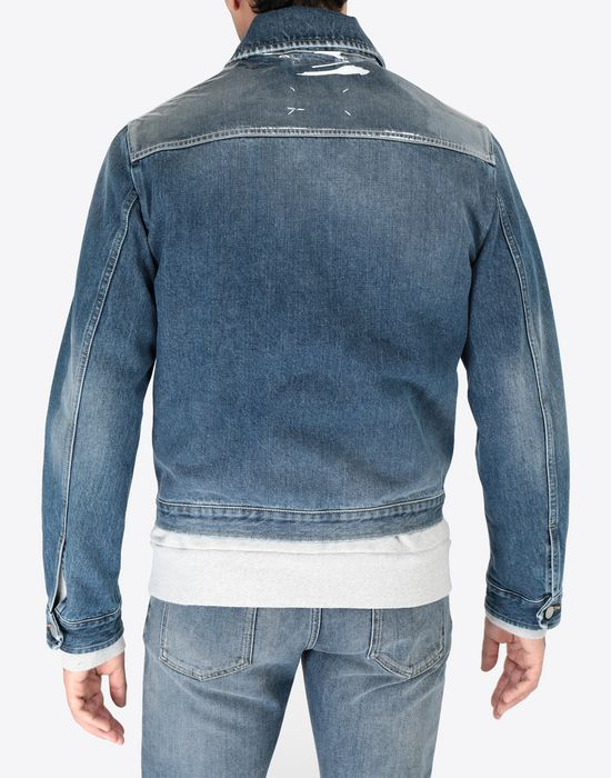 MAISON MARGIELA Denim sports jacket Jacket [*** pickupInStoreShippingNotGuaranteed_info ***] e