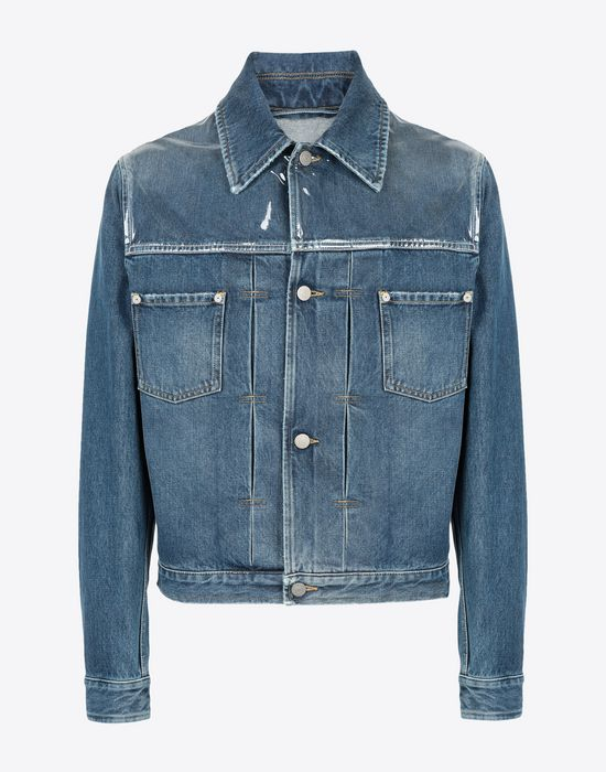 MAISON MARGIELA Denim sports jacket Jacket [*** pickupInStoreShippingNotGuaranteed_info ***] f