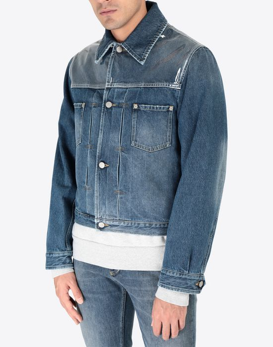 MAISON MARGIELA Denim sports jacket Jacket [*** pickupInStoreShippingNotGuaranteed_info ***] r