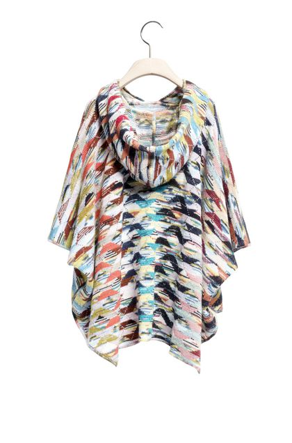 MISSONI KIDS Wrap Pink Woman - Front