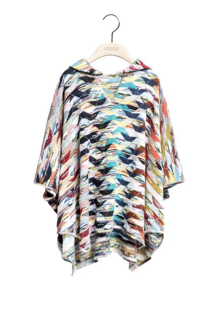 MISSONI KIDS Wrap Pink Woman - Back