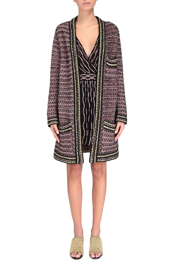 M MISSONI Trench coat Woman, Frontal view