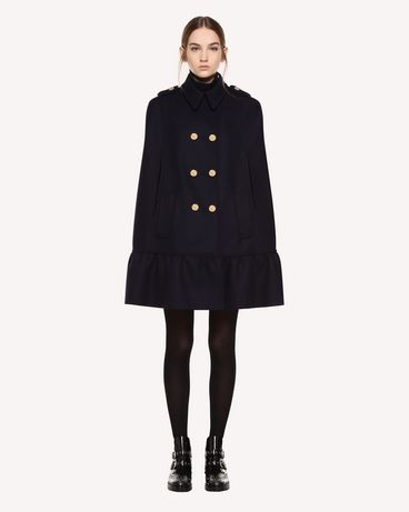 REDValentino QR0CG0752LC B01 Cloak - Cape Woman f
