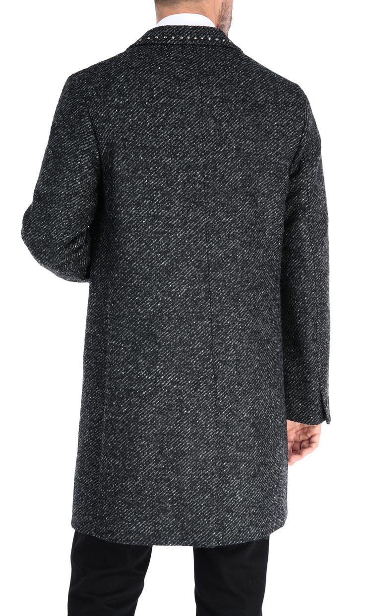 JUST CAVALLI Elegant long-sleeve coat Coat Man d